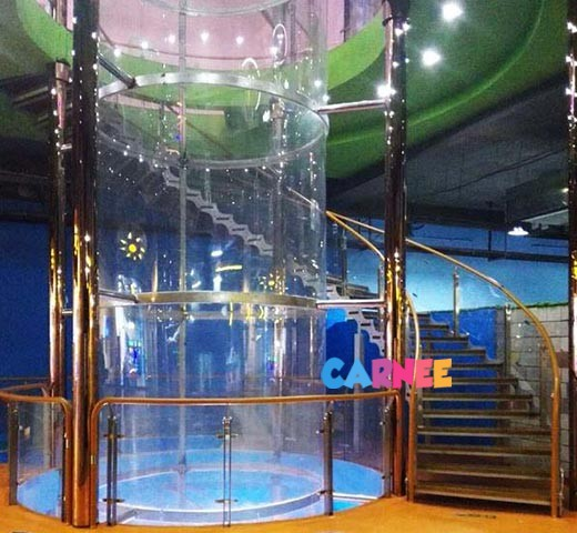 Entertainment wind tunnel