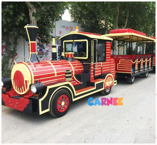 Park Trackless Train 1