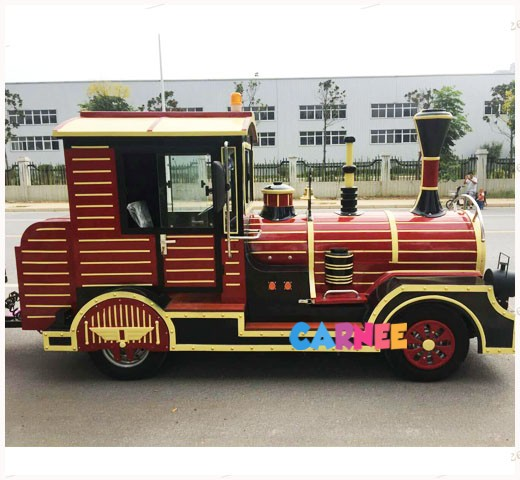 Park Trackless Train 2