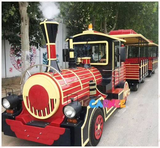Park Trackless Train 4