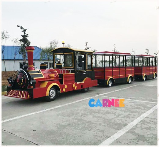 Park Trackless Train 3