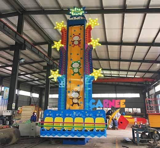 Amusement Kids Drop Ride
